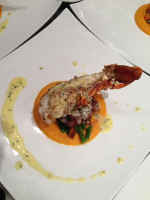 Caribbean Lobster tail entree