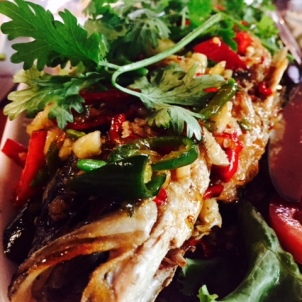 Whole Fish with Chili