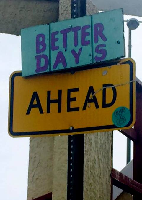 better ahead sign